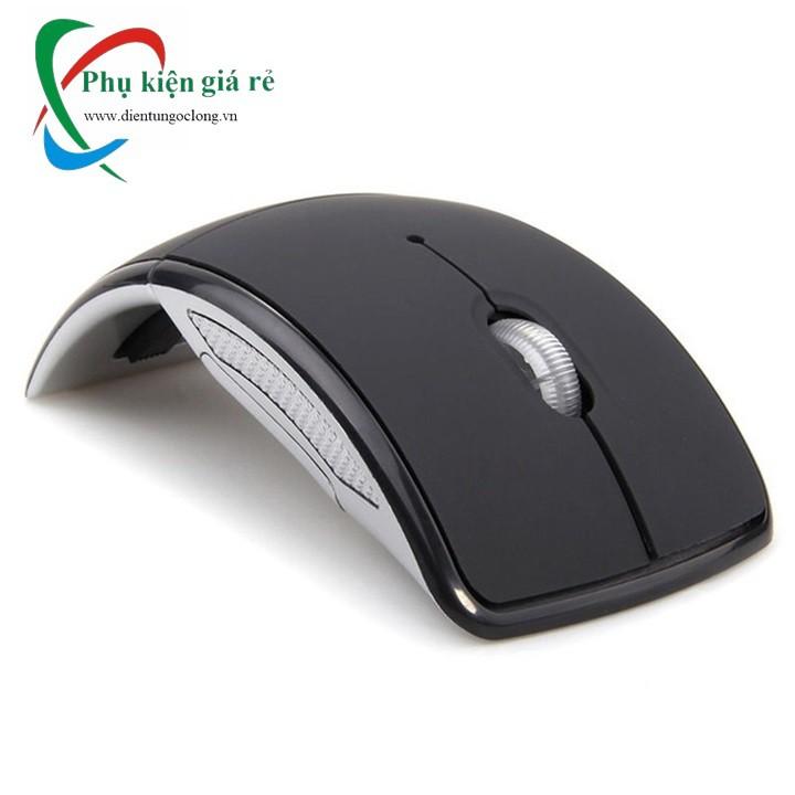 Chuột Quang Không Dây 2.4Ghz Gấp Gọn Cho Máy Tính Và Laptop