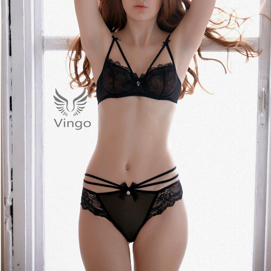 Bộ đồ lót ren cao cấp thương hiệu Vingo Việt Nam - 3343853 , 420358762 , 322_420358762 , 350000 , Bo-do-lot-ren-cao-cap-thuong-hieu-Vingo-Viet-Nam-322_420358762 , shopee.vn , Bộ đồ lót ren cao cấp thương hiệu Vingo Việt Nam
