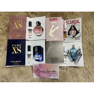 Vial mẫu thử nước hoa nam nữ hot hít nhất nhà Paco rabanne pure xs Jean Peaul Gaultier Sandal Le Male thumbnail