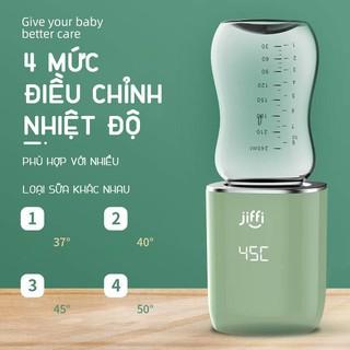 Máy hâm sữa cầm tay mini JIFFI 3.0 không dây cắm sạc usb siêu tiện lợi hàng Chính hãng - BH 12 tháng thumbnail