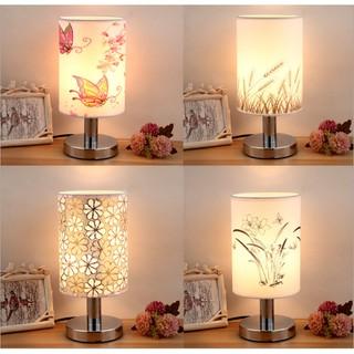 [HÀNG HOT] Đèn ngủ để bàn vải lụa cao cấp thiết kế sang trọng nhiều mẫu đẹp có thể điều chỉnh độ sáng