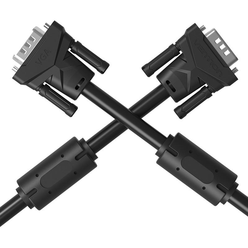 Cáp VGA tròn(3+6) Vention, dài 1,5m đến 10m Chính hãng Vention VAG-B04