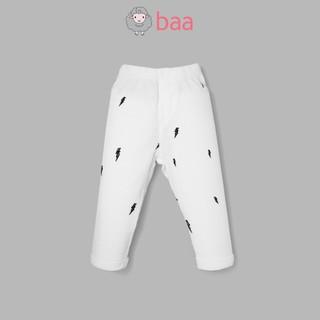 Quần legging sơ sinh unisex BAA BABY cho bé trai và bé gái - UN-QU01D