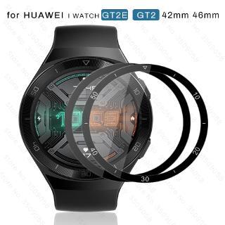 Kính Cường Lực Viền Cong 3d Bảo Vệ Màn Hình Cho Đồng Hồ Thông Minh Huawei Watch Gt 2e / Gt2 E