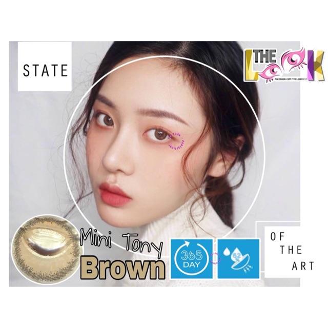 Contact Lens - Mini Tony Brown + Khay Gương