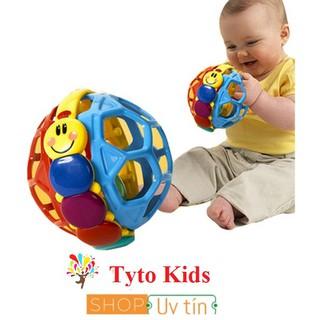 [Nhập mã TOY11FES10 giảm 10%]Bóng lục lạc Baby Einstein Bendy Ball 3m+ – đồ chơi âm thanh cho trẻ sơ sinh