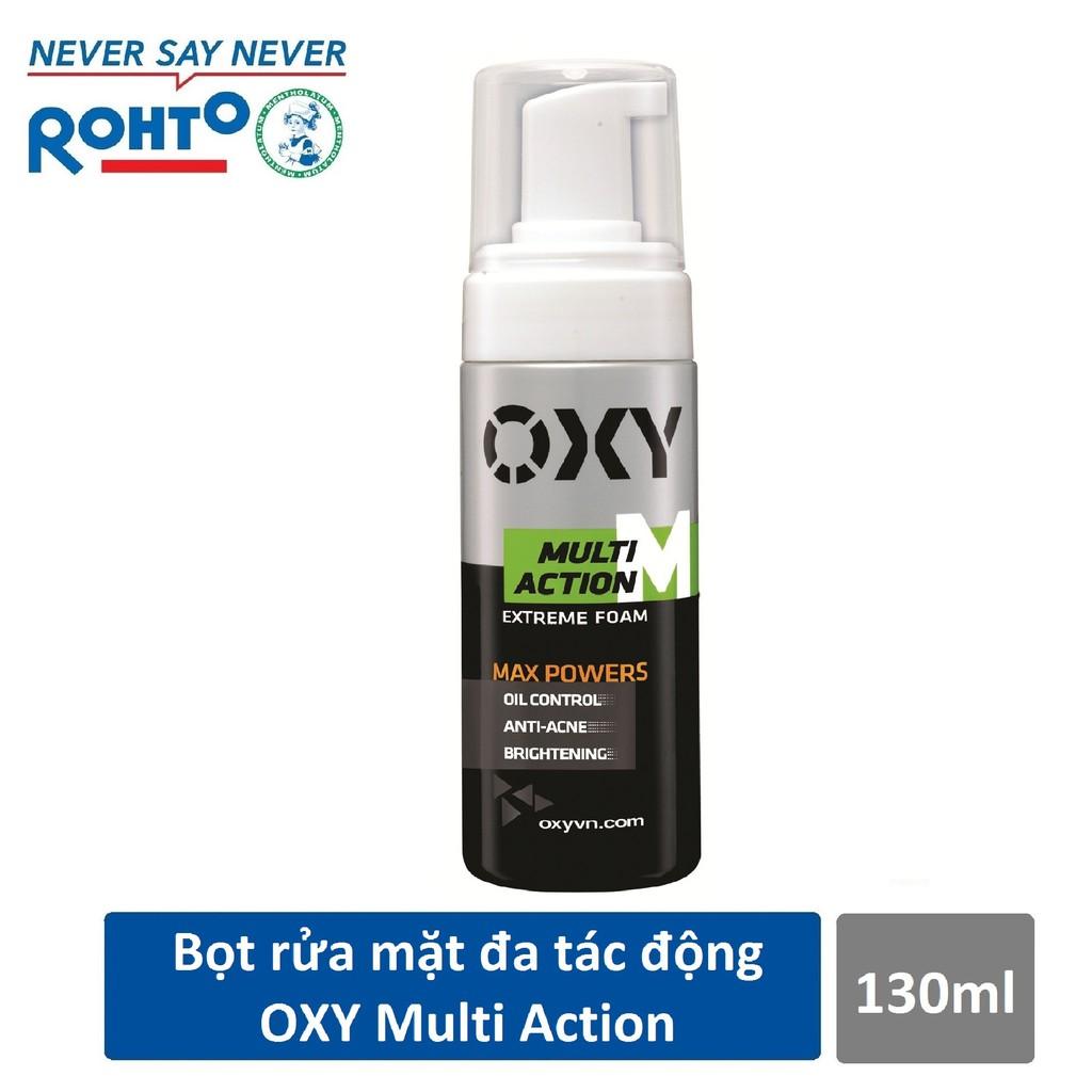 Bọt rửa mặt đa tác động dành cho Nam Oxy Multi Action 130ml - 3578352 , 964928850 , 322_964928850 , 70000 , Bot-rua-mat-da-tac-dong-danh-cho-Nam-Oxy-Multi-Action-130ml-322_964928850 , shopee.vn , Bọt rửa mặt đa tác động dành cho Nam Oxy Multi Action 130ml