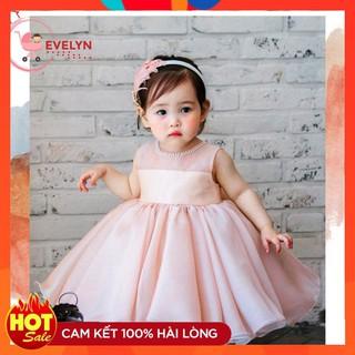 Đầm công chúa 👗 💥 FreeShip + TẶNG KÈM TURBAN 👗 Đầm thời trang Evelyn cho bé Mã VF01 E001 E003