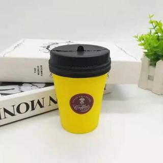 ( CAFÉ V) SQUISHY MÀU VÀNG CỐC CAFÉ TO BỰ- thegioidochoi127 hàng chính hãng