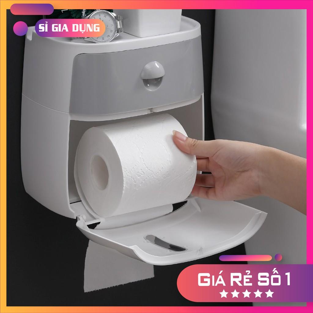 hộp để giấy vệ sinh dán tường thông minh Mã vs02