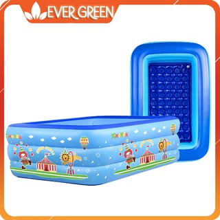 Bể bơi phao 3 tầng 1m8 cho bé [Evergreen]