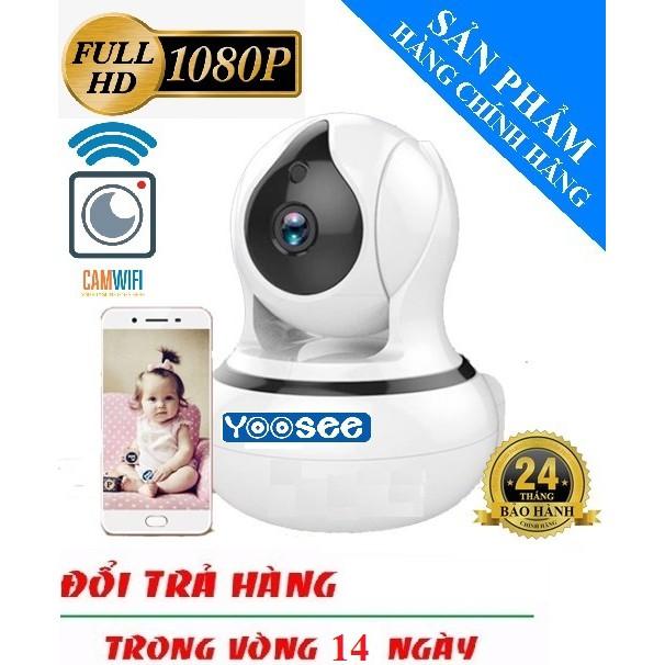 Camera IP Wifi Yoosee Camera Thông Minh Xoay 360° 2.0 Full HD 1080 Đàm Thoại 2 Chiều 2019