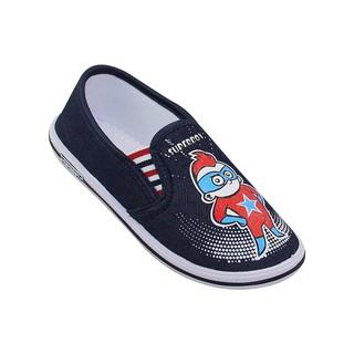 Giày vải bé trai Bita s GVBT.61 (Đỏ + Xanh dương + Xanh jean) thumbnail