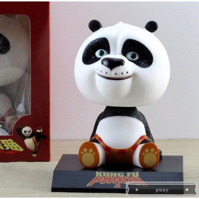 kung fu panda 3q โมเดลตุ๊กตาแพนด้าของเล่นสําหรับเด็ก