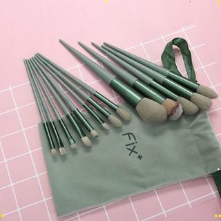 [ bộ 13 cây ] Cọ trang điểm Fix Hồng 13 Cây,bộ Cọ makeup Trang Điểm cá nhân kèm túi đựng HOT 4