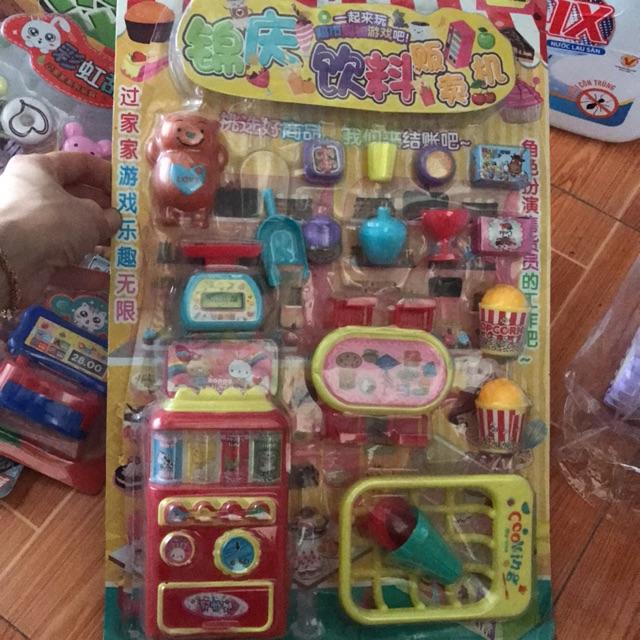 Bộ đồ chơi siêu thị
