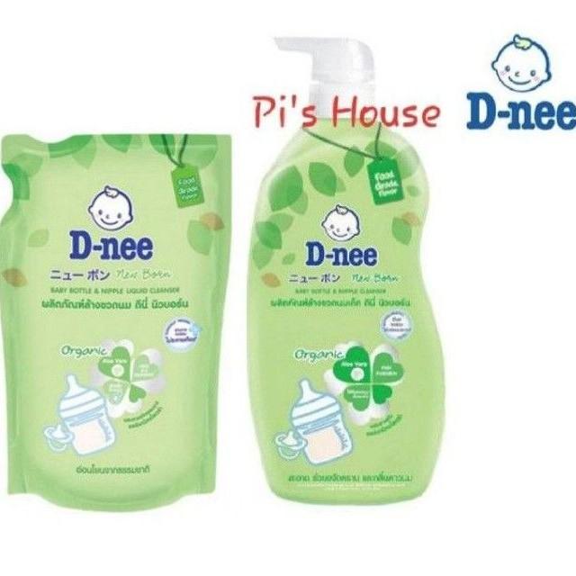 (HCM) Nước rửa bình sữa Dnee Organic 600/620ml Thái Lan