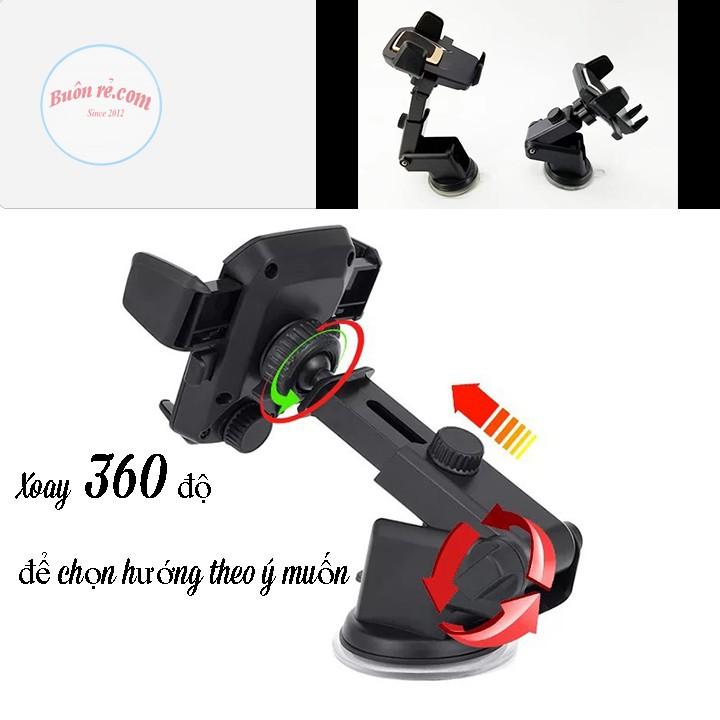 Giá đỡ điện thoại xoay 360 độ cho ô tô Buôn Rẻ 01170