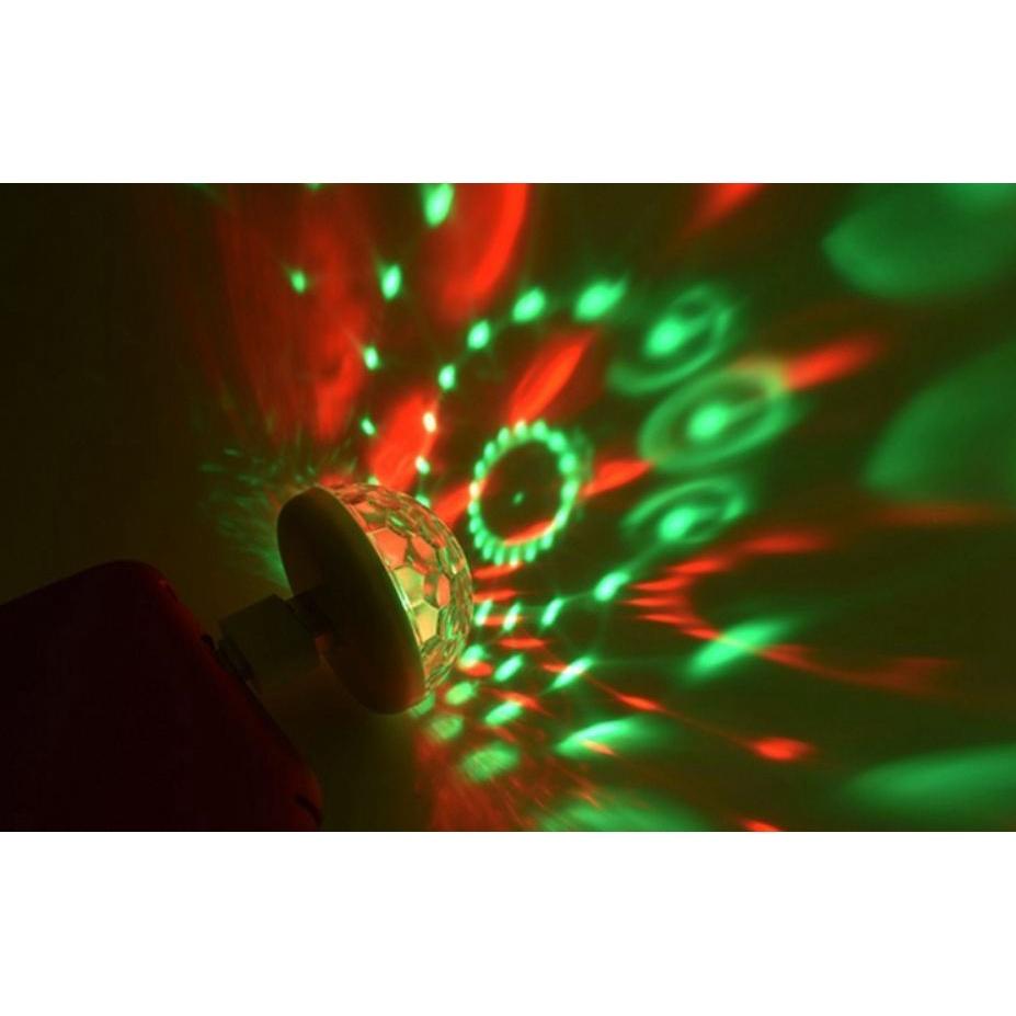 Đèn led USB cảm biến âm thanh, có thể kết nối với điện thoại, micro, máy tính (Tặng đầu chuyển đổi)