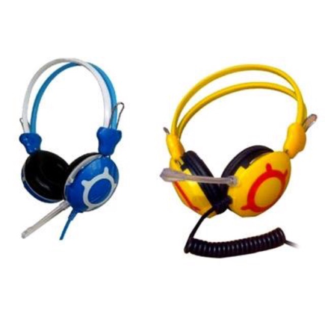 [SALE 10%] Tai nghe chụp tai, headphone siêu trâu vàng V2K dây to 5 ly