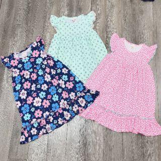Size đại - Váy (đầm) cotton xinh xắn cho bé gái 8-12t