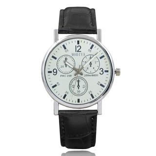 Đồng hồ nam Modiya thời trang Hàn Quốc dây da DH97