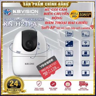 Camera ip Wifi KBVision KBone KN-H21PA 360 độ 1080p 2Mp thương hiệu mỹ cảm biến chuyển động đàm thoại 2 chiều BH 24tháng thumbnail