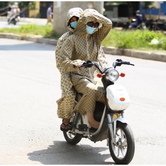 Áo khoác chống nắng toàn thân ( kèm khẩu trang )
