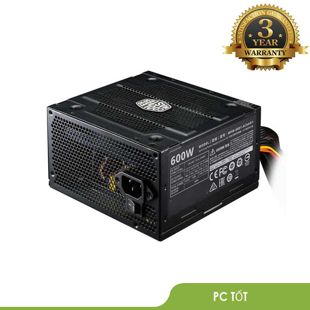 Nguồn máy tính Cooler Master Elite V3 600W- BH 36 tháng chính hãng Giá chỉ 880.000₫