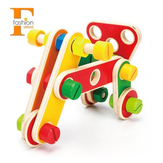 78Pcs Variety Nut Combination Child Shape Cognitive Toy