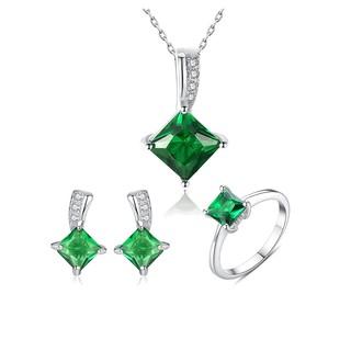 Bộ Trang Sức Nữ Bạc S925 BNT-603A BNJ-Trang Sức Cao Cấp Bảo Ngọc Jewelry