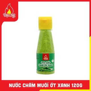 Nước Chấm Muối Ớt Xanh Chai 120g – Việt Chef