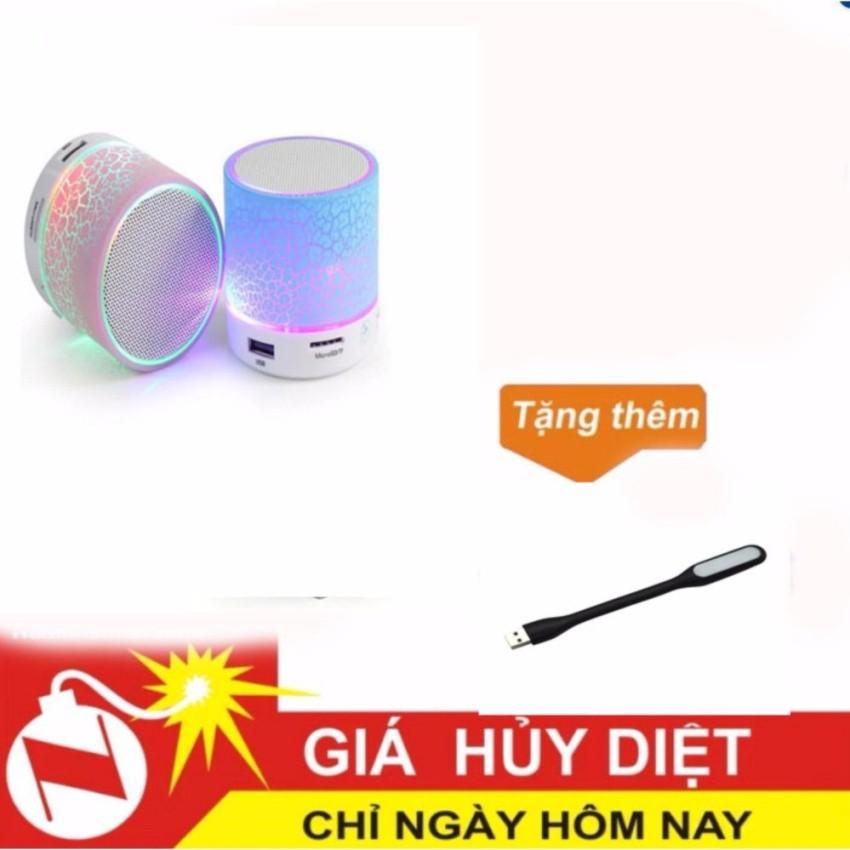 Loa mini bluetooth HLD-600 led nháy theo nhạc tặng kèm đèn led usb