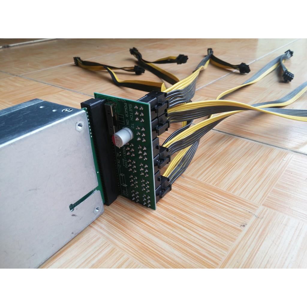 Rampage Tápegység - 1650W BTC-1650 Bitcoin (14cm ventilátor)