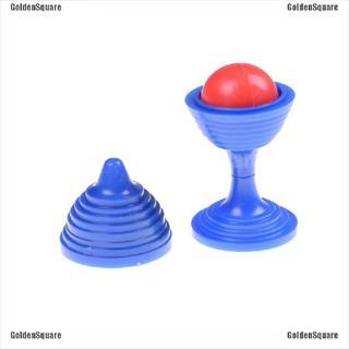 Magic Cup Bead Come Cup Close Up Street Magic Trick Perfom Kids Adult Toys [GoldenSquare]