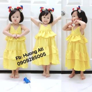 Váy maxi bé gái