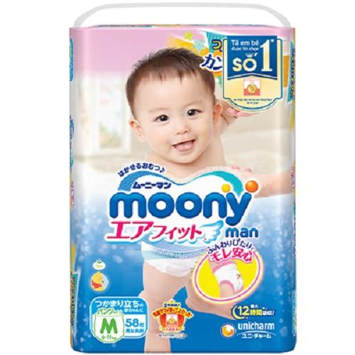 Bỉm quần Moony Nhật M58 (6-11kg)