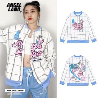 Áo khoác Cardigan Caro Angel-Land Chính hãng Xanh Trắng thumbnail