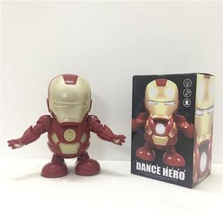 Đồ chơi IronMan Nhảy múa !!! ( tặng 1 móc khóa oẳn tù tì )