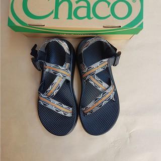 Dép Chaco sọc cam mã CT01M (có video)