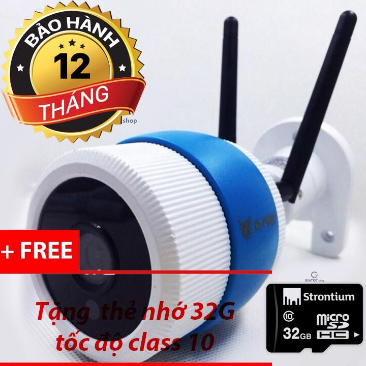 Camera wifi ngoài trời HN-vision 960P 2 râu tặng thẻ nhớ 32G - 3095948 , 836099363 , 322_836099363 , 1049000 , Camera-wifi-ngoai-troi-HN-vision-960P-2-rau-tang-the-nho-32G-322_836099363 , shopee.vn , Camera wifi ngoài trời HN-vision 960P 2 râu tặng thẻ nhớ 32G