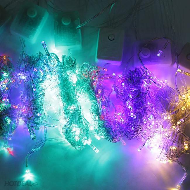 05 bộ dây đèn nháy nhiều màu dài 5m