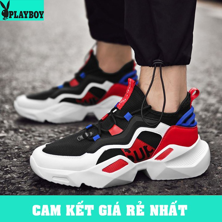 [GIÁ CỰC SỐC] Giày Sneaker Nam Cao Cấp Hàn Quốc 2019 - [PLAYBOY] (PL03)