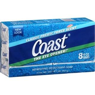 [Rẻ nhất] Xà phòng Coast Mỹ 1 lốc 8 bánh 907g