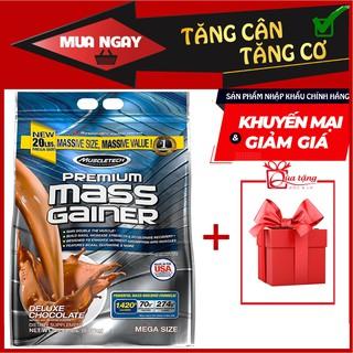 Sữa MASS hỗ trợ Tăng Cân Nhanh + Tăng Cơ – Premium Mass Gainer 12lbs (5,4kg) Vị Chocolate.