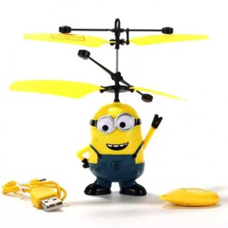 Máy bay điều khiển Minion cảm ứng SmartBUY (Vàng chanh)