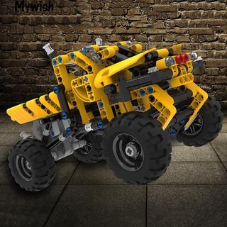 Fashion Car Truck Building Block Bricks Model Children Educational DIY Toy