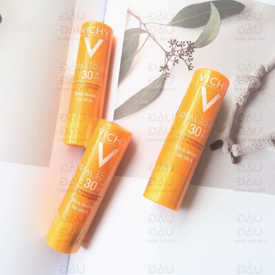 Kết quả hình ảnh cho Son dưỡng môi Vichy Ideal Soleil SPF 30+ Lipstick