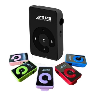 Máy Nghe Nhạc Mp3 Mini Hỗ Trợ Khe Cắm Thẻ Nhớ Tf