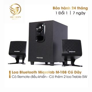 Loa Máy Vi Tính Microlab M-108 Loa Laptop Bluetooth Nghe Nhạc Để Bàn Mini Có Dây OHNO Việt Nam thumbnail